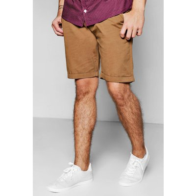 Chino Shorts - tobacco