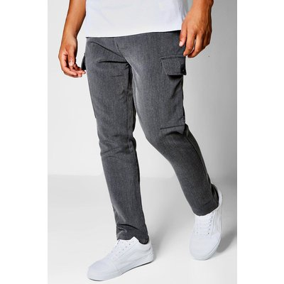 Cargo Formal Trousers - charcoal