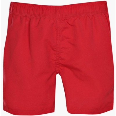Plain Swim Short - red