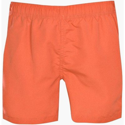 Plain Mid Swim Short - amber
