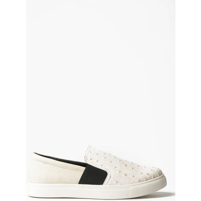 Slip On Trainers - white