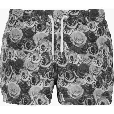 Print Swim Short - black