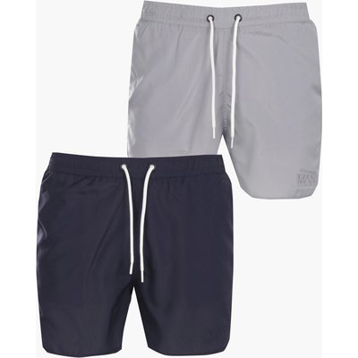 Pack Swim Shorts Mid Length - navy
