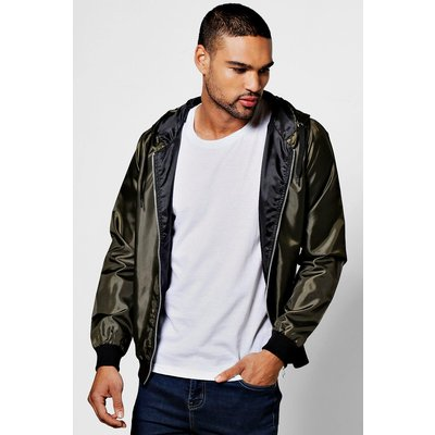 Lightweight Hooded Pac-A-Mac - olive