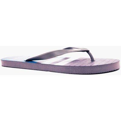 Print Flip Flops - grey
