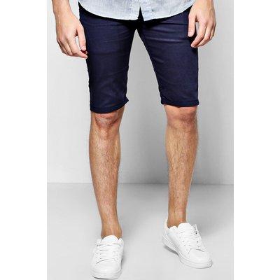 Stretch Chino Shorts - navy