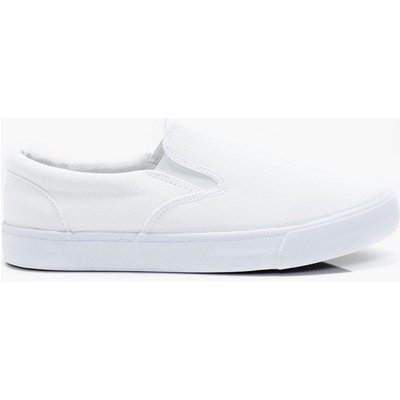 Slip On Plimsoll - white
