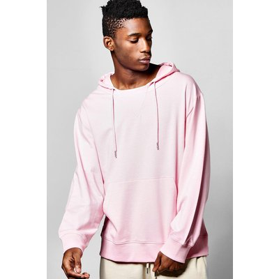 Snorkel Neck Hoodie - pink