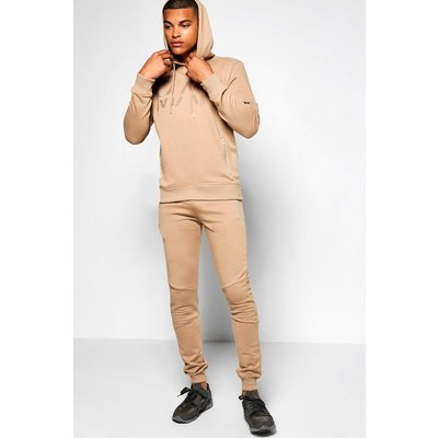 Fit Man Tracksuit - taupe