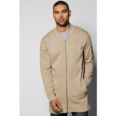 Jersey Ma1 Bomber - taupe