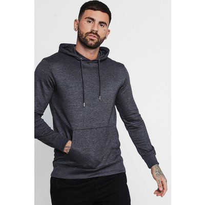 Over The Head Hoodie - charcoal