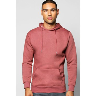 Over The Head Hoodie - pink