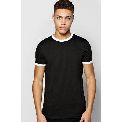 Rib T Shirt - black