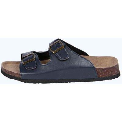 Flat Sandals - navy