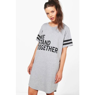 Charity We Stand Together Nightie - grey