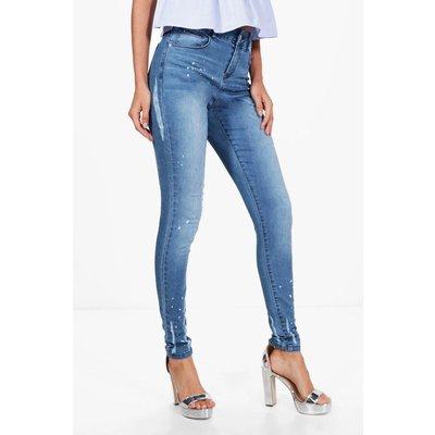 Mary Distressed Skinny Jean - blue
