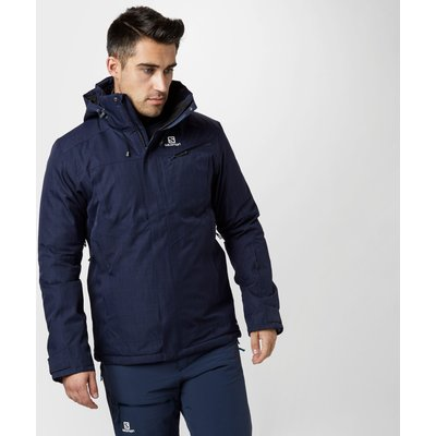 Salomon Men's Fantasty Ski Jacket - Blue, Blue