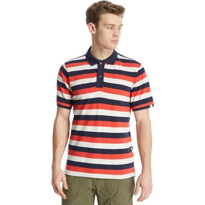 One Earth Men's Cory Polo Shirt - Red, Red