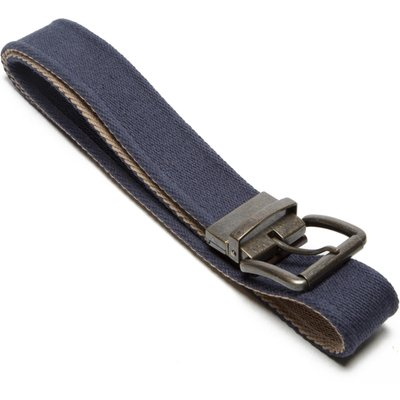 One Earth Men's Reversible Belt - Blue, Blue