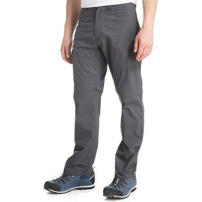 Peter Storm Men's Ramble Convertible Trousers - Regular - Grey, Grey