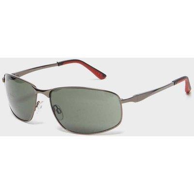 Peter Storm Men's Metal Framed Sunglasses - Black, Black