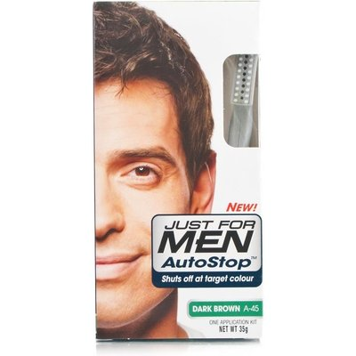 Just for Men Autostop Hair Colour - A-45 Dark Brown