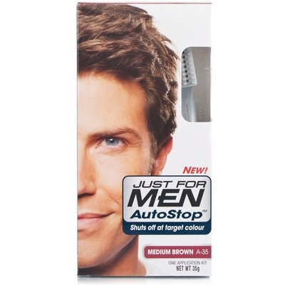 Just for Men Autostop Hair Colour - A-35 Medium Brown