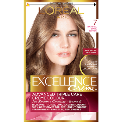 L'Oreal Paris Excellence Hair Colour 7 Natural Dark Blonde