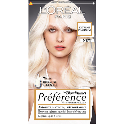 L'Oreal Paris Preference Hair Colour Extreme Platinum