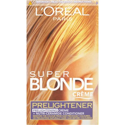 L'Oreal Paris Super Blonde Creme Hair Colour Prelightener
