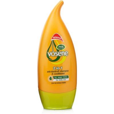 Vosene 2 in 1 Anti-Dandruff Shampoo & Conditioner