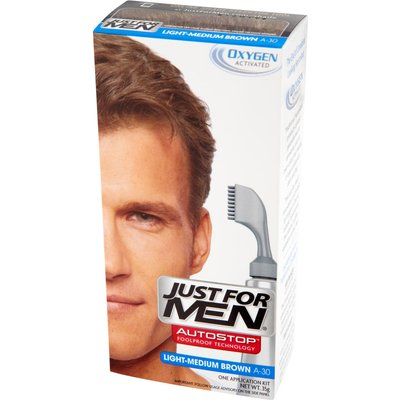 Just For Men Autostop Hair Colour - A-30 Light Medium Brown