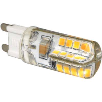 G9 LED 3W Capsule Bulb (25W Equivalent) 195 Lumen - Warm White