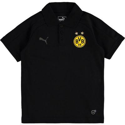 BVB Casuals Polo - Black - Kids, Black