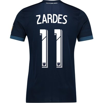 LA Galaxy Authentic Away Shirt 2017-18 with Zardes 11 printing, N/A