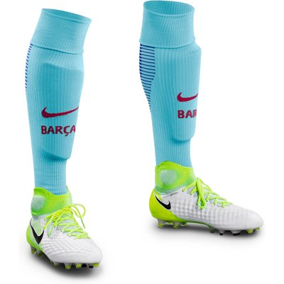 Barcelona Away Vapor Match Socks 2017-18, Purple