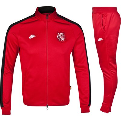 Manchester United Covert N98 Warm Up Tracksuit-Red
