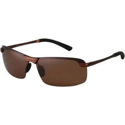 ReeDoon Men's Resin Lens Polarized Driving Sunglasses - Tan