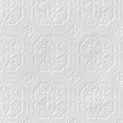 Anaglypta Original White Derby Paintable Wallpaper 5010131032943