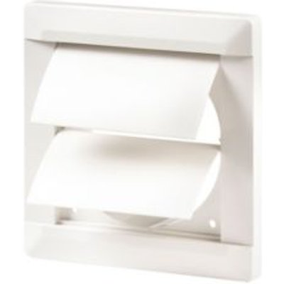 5020953930778 | Manrose White External Flap Wall Vent