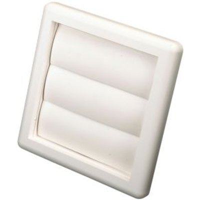 5020953930860 | Manrose White External Flap Wall Vent  H 140mm