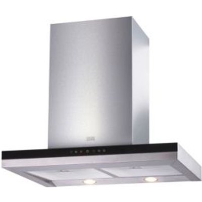 5052931258727 | Cooke   Lewis CLBHGH 60 Stainless Steel Half Glass Box Cooker Hood   W  600mm