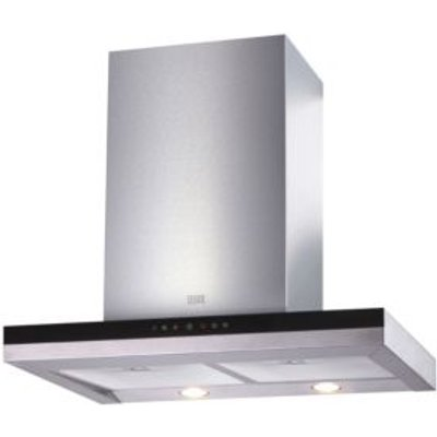 5052931258741 | Cooke   Lewis CLBHGH 90 Stainless Steel Half Glass Box Cooker Hood   W  900mm Store