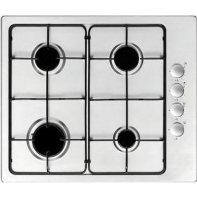 5052931268382 | Cooke   Lewis 4 Burner Stainless Steel Gas Hob Store