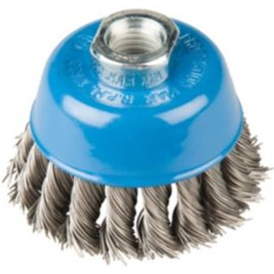 5052931356867 | PTX Knotted Wire Brush  Dia  75mm Store