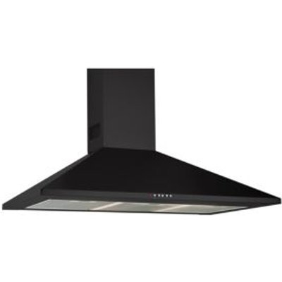 8422248600552 | Designair CHK60BK   Steel Chimney Cooker Hood   W  600mm