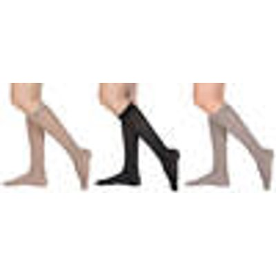 Support stockings, 3 pairs of beige, size 4-6