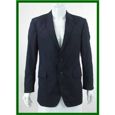 Calvin Klein - Size: 38S - Blue - 100% Wool - Single breasted suit jacket