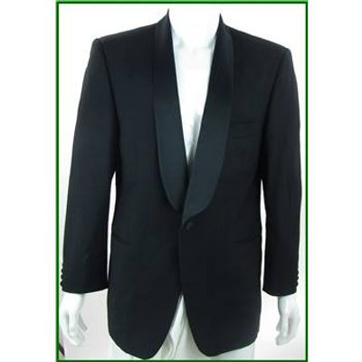 Marlane - Size: 40 - Black - Single breasted Dinner Jacket