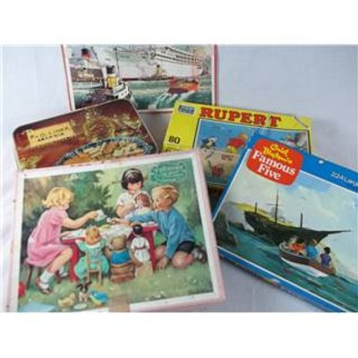 Collection of Four Vintage Puzzles